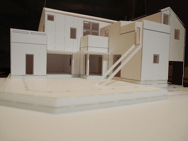 都内近郊 住宅地の新築計画